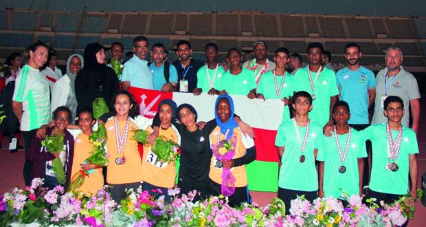 منتخباتنا المدرسية لألعاب القوى للذكور والإناث تضيف 5 ميداليات ملونة وترفع غلتها إلى 13 ميدالية