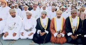 محافظات وولايات السلطنة تحتفل بأول أيام عيد الأضحى المبارك