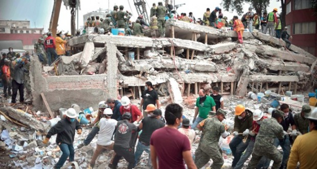 (المكسيك)تعلن الحداد والضحايا إلى 230 وماريا يطمس معالم بويرتوريكو
