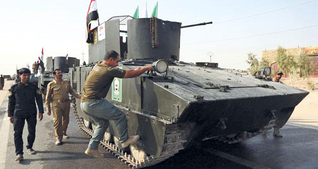 الجيش العراقي يعلن سيطرته على منطقة عكاشات