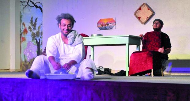 """سما المسرحية تقدم""""الطباخ زنتور""""بولاية الرستاق"""