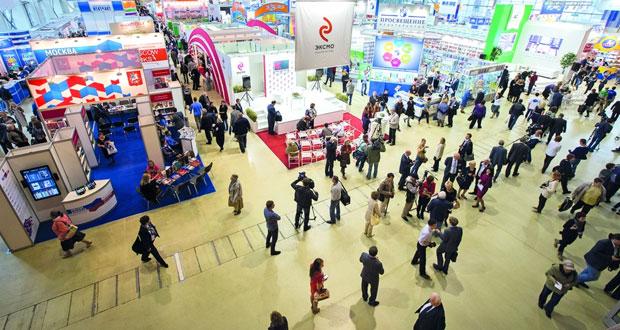 افتتاح فعاليات الدورة الثلاثين من المعرض الدولي للكتاب بموسكو