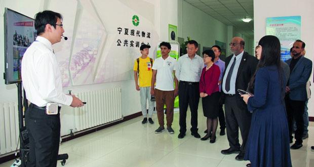 هيئة المنطقة الاقتصادية الخاصة بالدقم تبتعث 88 طالبا للدراسة في الصين