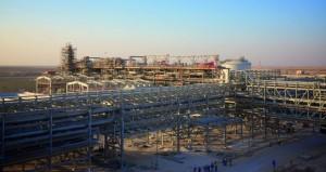 (خزان) ينطلق بإنتاج يصل إلى مليار قدم مكعب من الغاز يوميا
