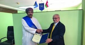 عماني يحصل على عضوية اتحاد خبراء الغرف التجارية الأوروبية