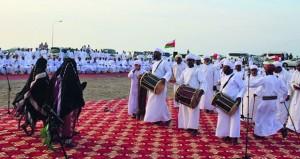 افتتاح مهرجان شرس الهدادبة الشعبي الثاني بالمصنعة