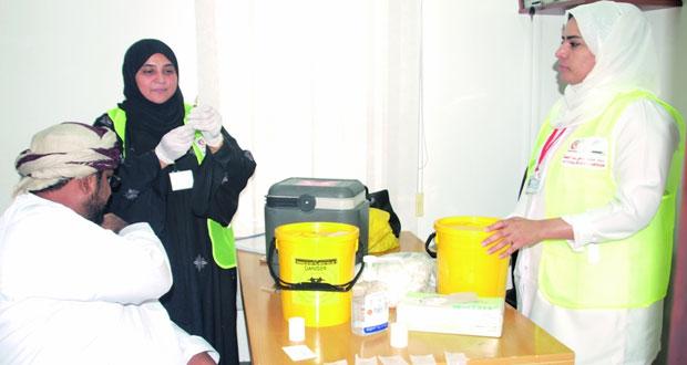 تواصل أعمال المرحلة الثانية من الحملة الوطنية للتحصين ضد مرض الحصبة