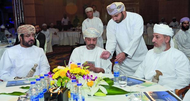 """الأوقاف والشؤون الدينية تحتفل بإطلاق الهوية والخدمات الجديدة لتطبيق التقويم العماني و""""نظام الزكاة الإلكتروني"""""""