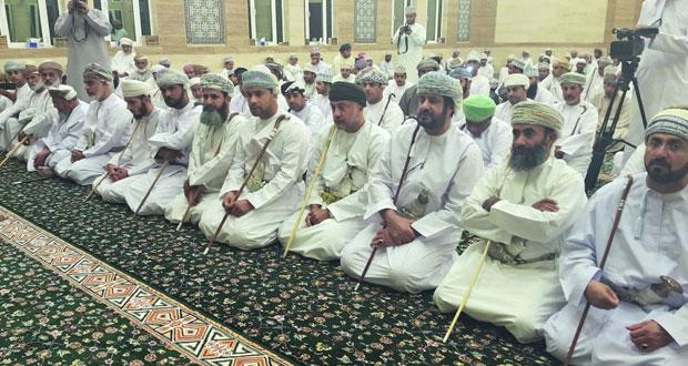 الاحتفال بافتتاح مسجد الضياء بالعامرات