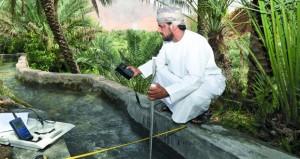 البلديات الاقليمية تواصل اهتمامها بمحطات المراقبة المائية لأهمية يباناتها في كافة أوجه مشاريع التنمية