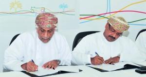 توقيع اتفاقية تنفيذ المرحلة الأولى للأعمال الرئيسية لمشروع الألبان بالسنينة بتكلفة تقارب 28 مليون ريال عماني