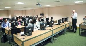 """مجلس البحث العلمي ينظم حلقة حول مشروع المكتبة العلمية الافتراضية """"مصادر"""""""