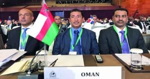 شرطة عمان السلطانية تشارك في اجتماعات الدورة الـ (86) للإنتربول بالصين