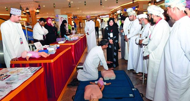 المركز الوطني لطب وجراحة القلب بالمستشفى السلطاني يقيم فعالية توعوية