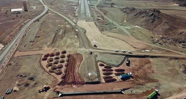 افتتاح (١٥) كيلو متراً نهاية العام الجاري وإنجاز ما يقارب من خمسين بالمائة من المرحلة الثانية لازدواجية (عبري ـ ينقل)