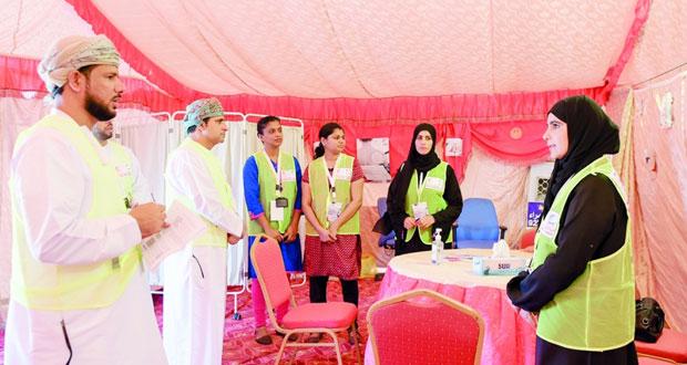 ختام فعاليات الحملة الوطنية للتحصين ضد مرض الحصبة