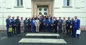 وفد جمعية المحامين يزور البرلمان التشيكي ومصلحة السجون وكلية القانون بالعاصمة التشيكية براغ