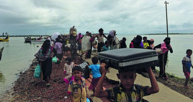 الأمم المتحدة: 370 ألفا من الروهينجا فروا من بورما إلى بنجلادش
