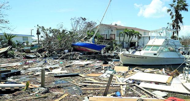 إعصار (إرما) : 12 قتيلا بفلوريدا الأميركية وترامب يزور بعض المناطق المتضررة