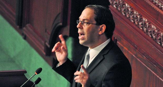 تونس : الشاهد يواصل مشاورات التغيير الوزاري..والأحزاب تحذر من تجاهل توازنات 2014