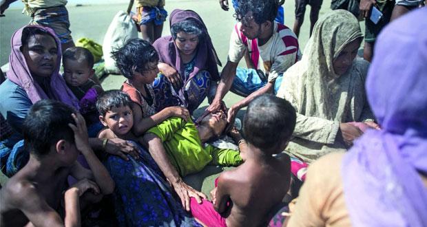 (مأساة الروهينجا): 2000 لاجئ يحتشدون سعيا للمغادرة إلى بنجلادش