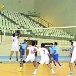 مراكز إعداد الناشئين تواصل برامجها وأنشطتها في كرة الطائرة