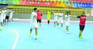 منتخبنا الوطني الجامعي يلتقي كازاخستان اليوم وعينه على النهائي