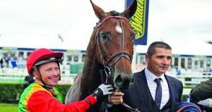 الحصان نفيس للخيالة السلطانية يفوز بكأس رئيس دولة الإمارات على مضمار دونكاستر