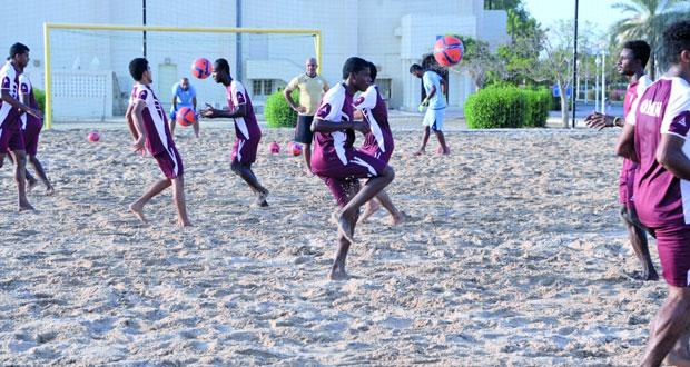 منتخبنا الوطني لكرة القدم الشاطئية يلغي معسكره التدريبي الثاني