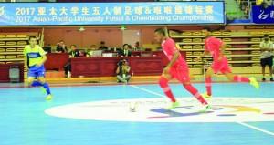 منتخبنا الوطني الجامعي يعبر إلى نهائي القارة الآسيوية بفوز على كازاخستان