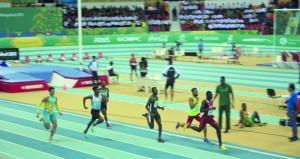 الحارثي والسعدي يصلان للنهائي ورقم عماني جديد في ألعاب القوى