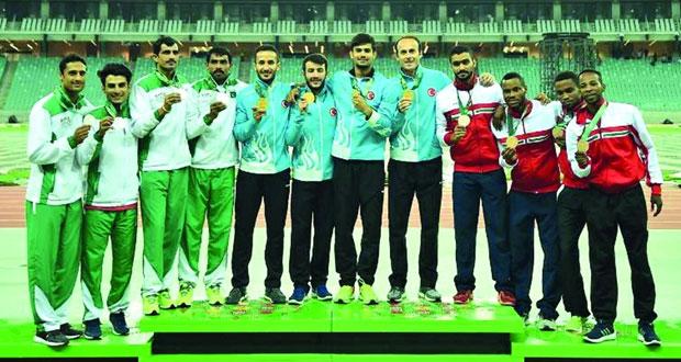 منتخباتنا الوطنية المشاركة في الدورة الخامسة للألعاب الآسيوية للصالات تغادر اليوم إلى عشق آباد