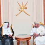 قائد القوات البحرية الملكية السعودية يصل السلطنة