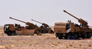 الجيش السوري ينفذ ضربات مركزة على داعش في جبهة دير الزور