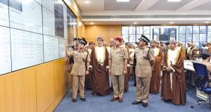 افتتاح قيادة شرطة مسندم ومركز (خصب) وتخريج فصائل المستجدين