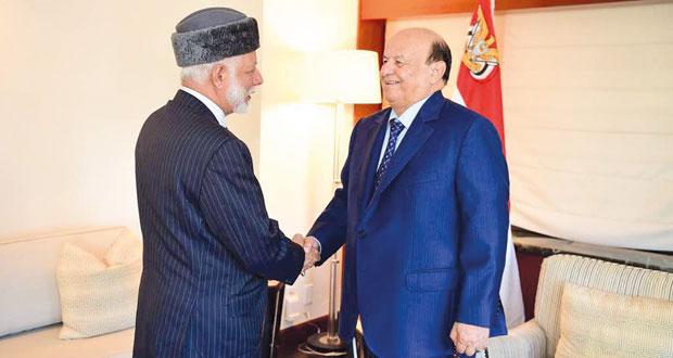 الوزير المسؤول عن الشؤون الخارجية يبحث الأوضاع الراهنة مع الرئيس اليمني