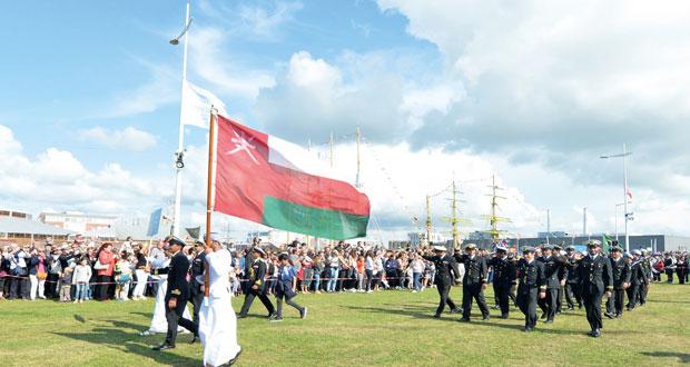 شباب عمان الثانية تحتفل بعيد الأضحى المبارك