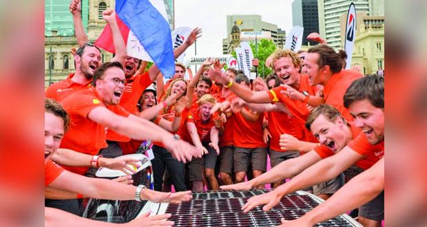 هولندا تفوز بسباق الطاقة الشمسية في أستراليا للمرة السابعة