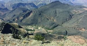 جبل شمس ..روعة الطقس وجمال الطبيعة