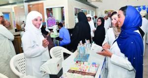 بشعار «ضع صحة عينيك بالاعتبار» .. مستشفى النهضة يحتفل باليوم العالمي للإبصار