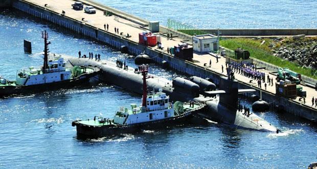 مناورات بحرية أميركية كورية جنوبية كبيرة الأسبوع المقبل