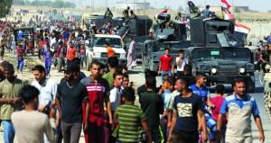 القوات العراقية تعلن السيطرة على مواقع مهمة في كركوك