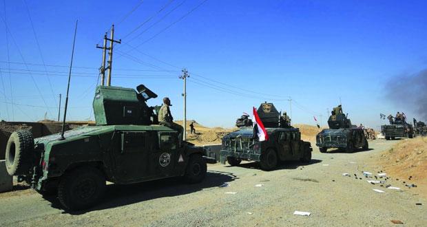 القوات العراقية تبسط سيطرتها على أكبر حقول كركوك النفطية.. وقضاء سنجار