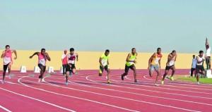ختام بطولة ألعاب القوى بالجيش السلطاني العماني