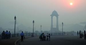 """التلوث يجتاح مدينة دلهي الهندية بعد مهرجان """"ديوالي"""" رغم حظر بيع الألعاب النارية"""