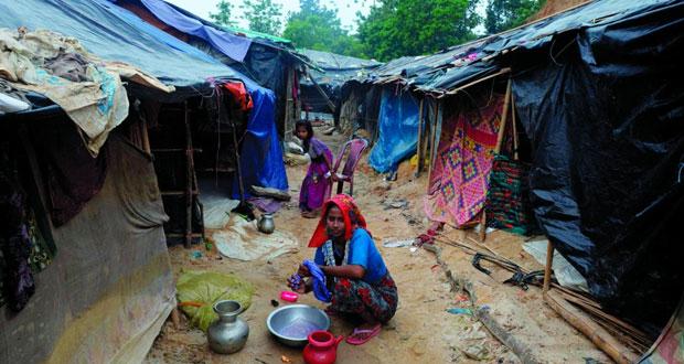 يونيسيف: أطفال اللاجئين الروهينجا في حالة بائسة