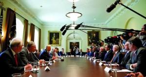 """بوش الابن ينتقد المشهد السياسي في عهد ترامب وأوباما ينتقد """"الانقسام"""""""