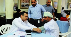 مستشفى النهضة ينظم حملة للتبرع بالدم