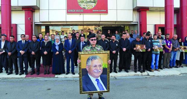 العراق : حداد 3أيام على جلال طالباني .. والعبادي يدعو الأكراد لإدارة مشتركة لكركوك