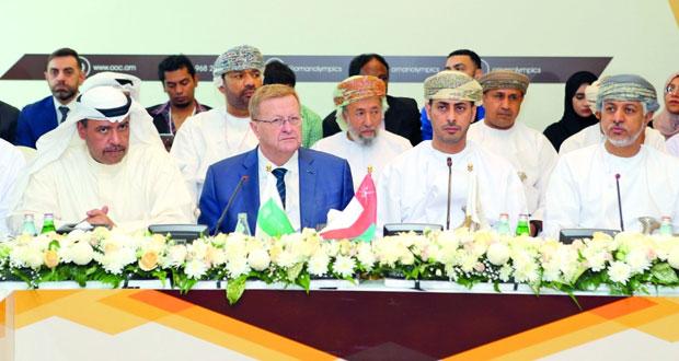 وزير الشؤون الرياضية يفتتح الاجتماع الثامن والأربعين للمجلس الدولي للتحكيم الرياضي بمشاركة 30 مشاركا